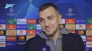 Артем Дзюба на «Зенит-ТВ»: «Хотели показать сопернику, кто здесь хозяин»