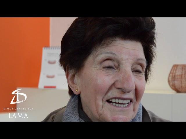 Testimonianza di Angela: Riabilitazione Implantare