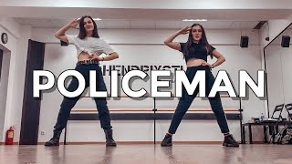 😱[ВЫУЧИЛИ ТАНЕЦ ЗА ЧАС] 🔥 Eva Simons feat. Konshens - Policeman dance cover  by RED SPARK