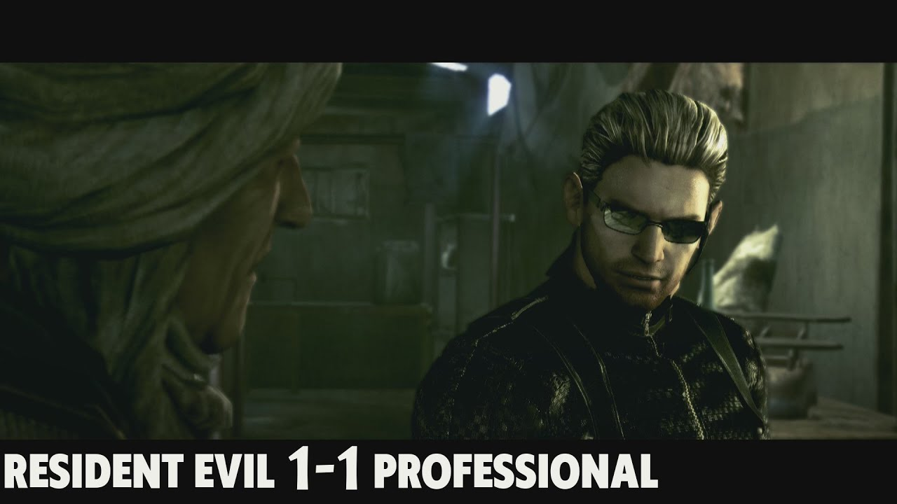 Resident Evil 5 Professional Is Fun