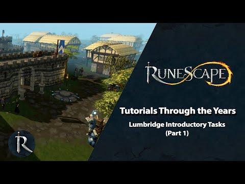 RuneScape's Tutorials Through The Years - Lumbridge Introductory Tasks (pt. 1)