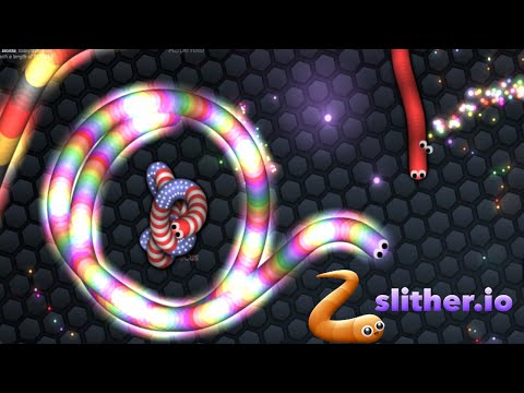 Slither.io World Record Highest Score Challenge Multiplayer Online Game! Similar To Agar.io