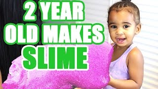 One of LaToya Forever's most viewed videos: 2 YEAR OLD MAKES SLIME!