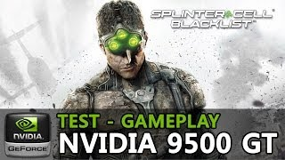 Splinter Cell Black List - Geforce 9500 GT - Pentium E5200 - 2GB Ram - Ultra Low - PC Gameplay