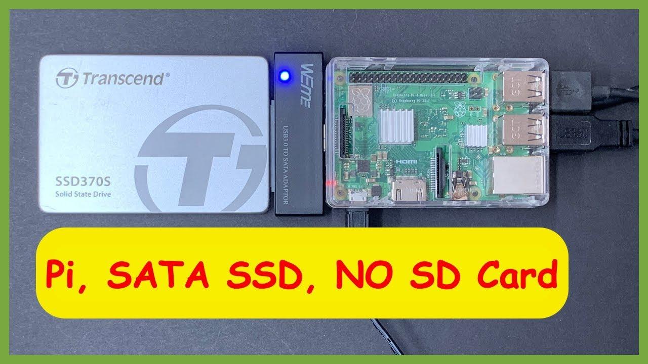 🥧Raspberry Pi 3B/3B+ USB SATA/SSD (2019) 🥧