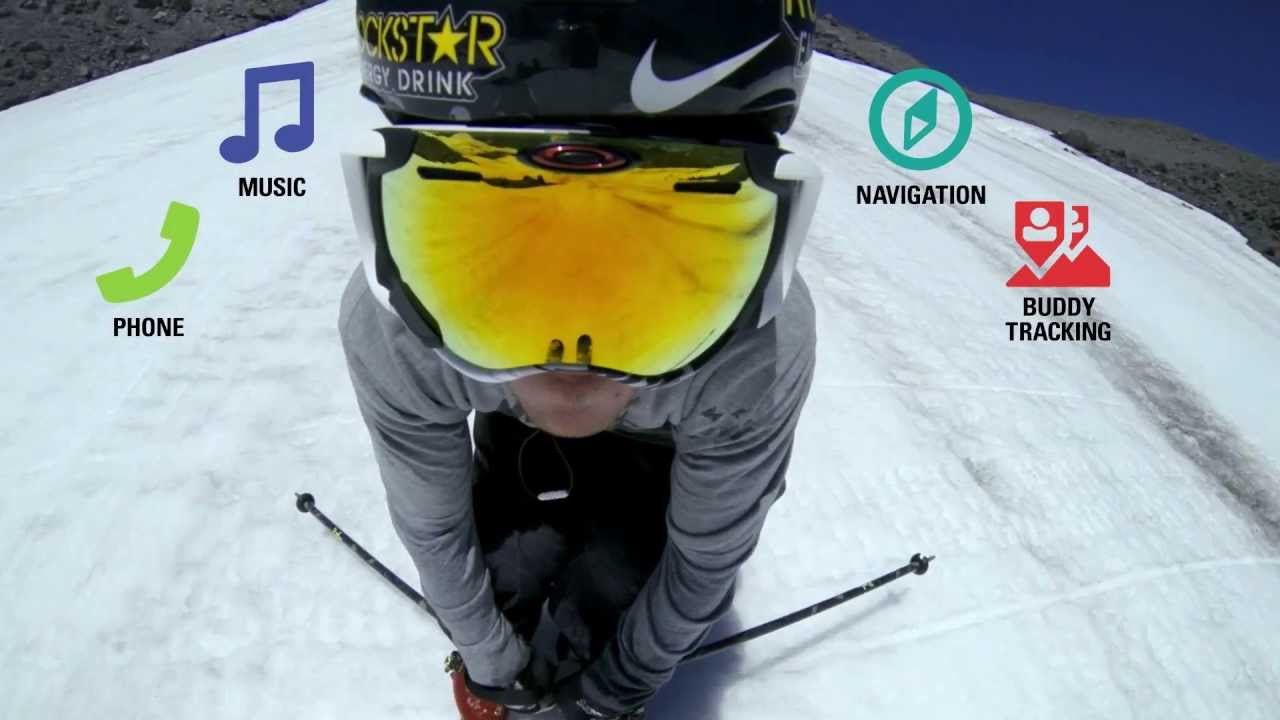 oakleys snowboarding goggles  Airwave 1.5 Snow Goggle Tutorial: The App - YouTube