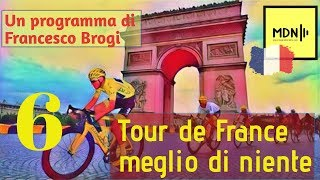 🔴 Tour de France 2019 🇫🇷 sesta tappa 🚴 Francesco Brogi
