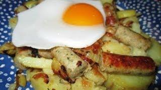 How To Make A Filling 'farmers Breakfast' (bauernfrühstück) - 012