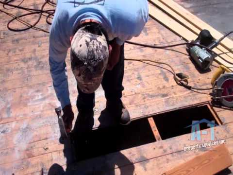 Properly repairing t g wood miami roofing 1 866 roofing for T g roofing