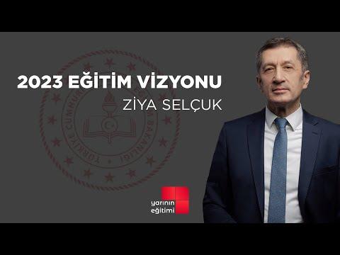 Milli Eğitim Bakanı Ziya Selçuk -2023 Eğitim Vizyonu Tanıtım Toplantısı