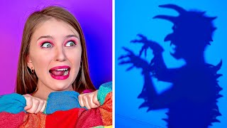 SPOOKY SITUATIONS YOU CAN DEFINITELY RELATE TO || Funny Relatable Moments by 123 GO!