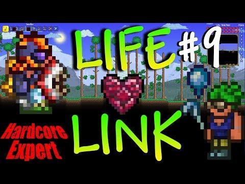 Terraria Expert Hardcore Life-Link w/ NoWayLarry  #9