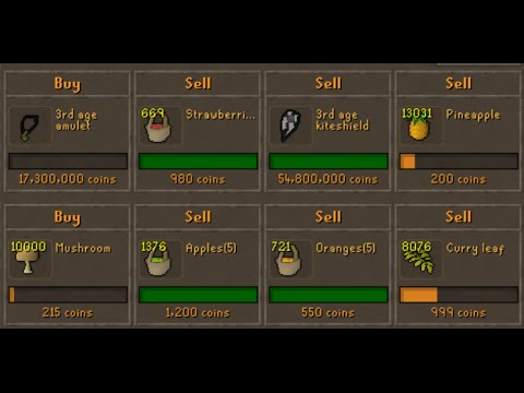 OSRS FLIPPING DIARIES #1 - 3RD AGE FLIPPING IS AMAZING