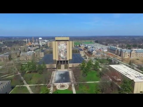 Drone   Notre Dame 2016