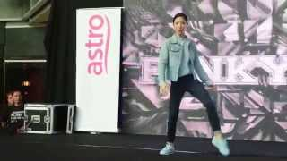Astro 舞极限 Battleground 2015 - FUNKY LIA Freestyle Dance Showcase #‎astrobtg2015