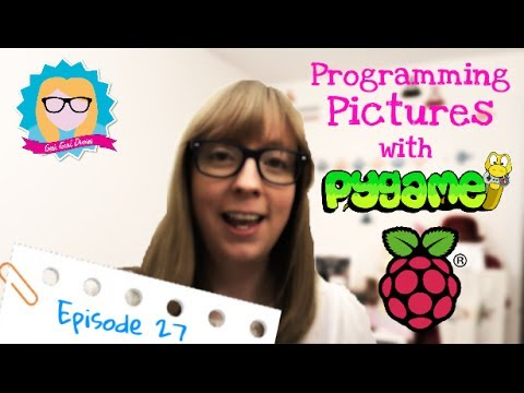 How to program Python Pictures with Pygame