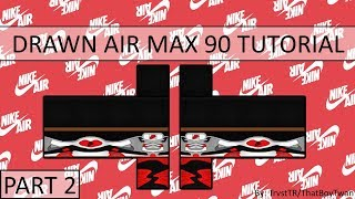 ROBLOX How to draw Air Max 90 | Part 2