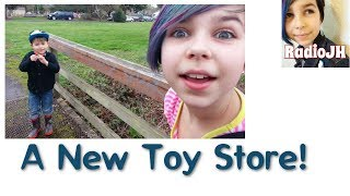 VLOG 3.5 - Checking Out A New Toy Store! - MLP, TMNT, LEGO and More!
