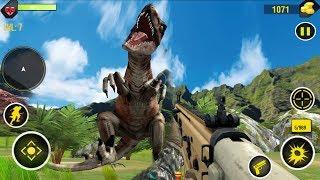DINOSAUR HUNTER - Walkthrough Gameplay Part 2 - MOUNTAIN (GameLead Android)