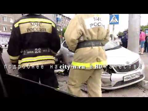 Серьезная авария в Кузнецком районе Новокузнецка