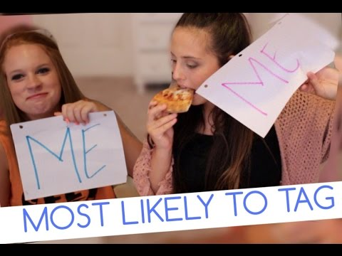 THE MOST LIKELY TO TAG  PIZZA PARTY