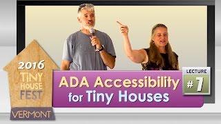 2016 Tiny House Fest #7: ADA Accessibability
