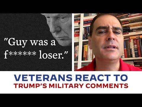 Veterans React to Trump's Comments from Atlantic Article | Joe Biden For President 2020