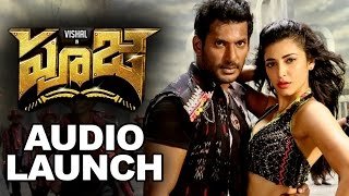 Pooja (Poojai) Movie Audio Launch Full Video || Vishal, Shruti Hassan