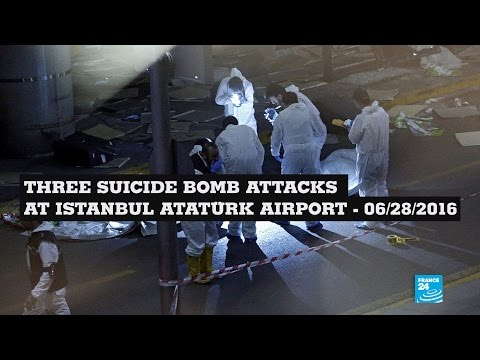Istanbul Atatürk airport attack: amateur footages show extreme violence of terror assault