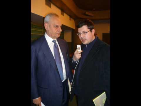 Daniele Fazio intevista  Marcello Pera (Messina 2009)