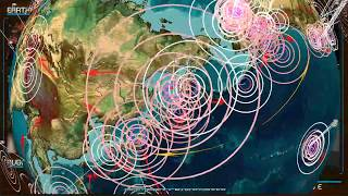 10/14/2018 -- Global Earthquake Forecast -- New 9 day watch for large activity -- Unrest Likely