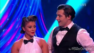 Brooke Vincent and Matej Silecky skating in Dancing on Ice (18/2/18)