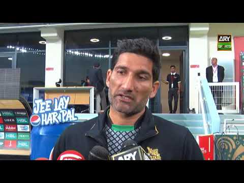 Sohail Tanvir shares his thoughts on his selection in national team
