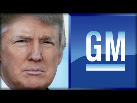 GENERAL MOTORS JUST MADE AN EPIC ANNOUNCEMENT THAT MADE TRUMP SMILE