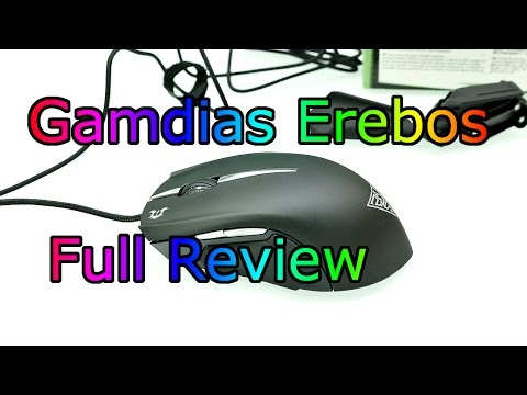 Gamdias Erebos - Extension LED Multicolor Optical Gaming Mouse ! Full Review [4K]