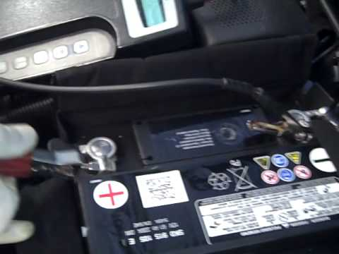 how to check vw car battery steve white vw greenville sc youtube. Black Bedroom Furniture Sets. Home Design Ideas