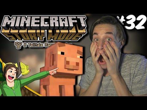 REUBEN IS TERUG?! - Minecraft: Story Mode - Part 32 - Episode 8 [Dutch]