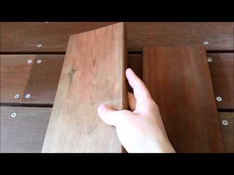 video terrasse bois exotique / pin classe 4