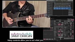 MIDI Guitar 2 by Jam Origin - Demo by Abel Franco
