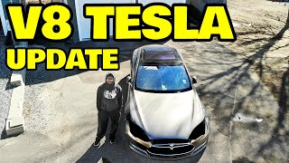 Building a V8 powered tesla, WHATS TAKING SO LONG?