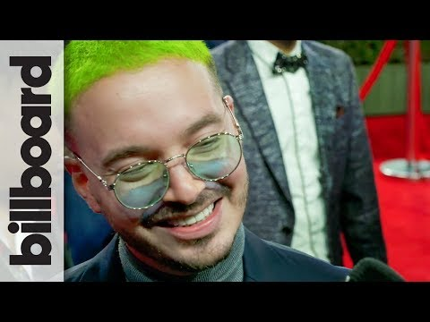 J Balvin Chats His Performance with Nicky Jam, Carla Morrison | Latin Grammys 2018