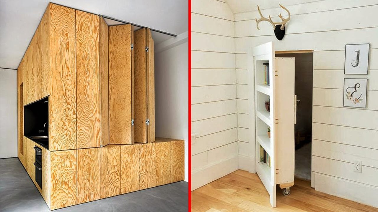 Incredible and Ingenious Hidden Rooms & Amazing Home Ideas ▶ 10 !