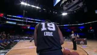 Jarell Eddie catches fire to win the 2015 NBA D-League Three-Point Contest
