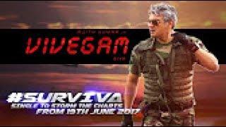 Vivegam survival song teaser Anirudh & Yogi B Combo Is Electrifying | Ajith