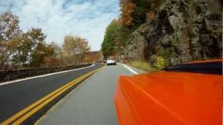 69 Camaro- Hawks nest NY through the Twisties video with NJ Cruisers pass 1