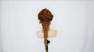 華麗的髮型自己綁  宴會用辮子低馬尾 Gorgeous Braid Hairstyle Tutorial