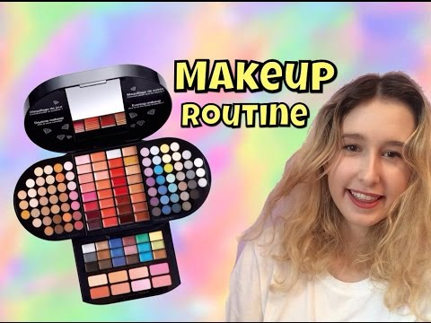 Morning Makeup Routine  - Sephora brilliant makeup pallet - Clare Newman