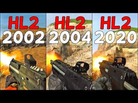 Half-Life 2 Beta vs. Vanilla vs. MMod - Weapons Comparison 4K 60FPS