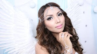Victoria Secret Snow Angel Makeup & Hair Tutorial Thumbnail