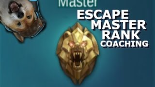 How to Escape Master Rank Mobile Legends + giveaway